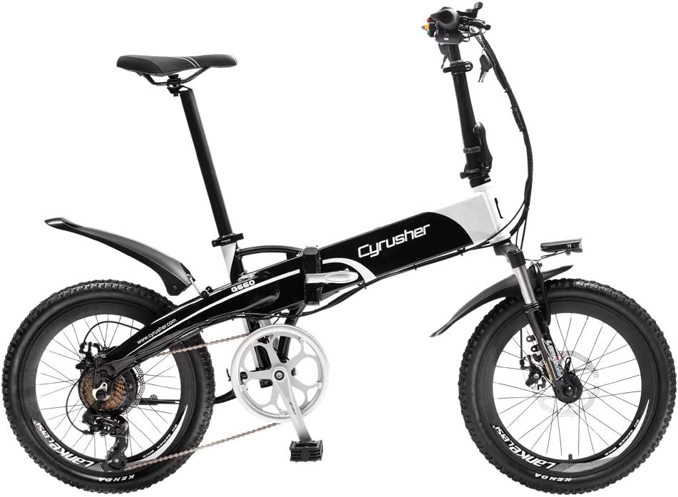 Extrbici XF500 eléctrico bicicleta plegable 20 pulgadas 50 cm estructura de aluminio de acero al carbono tenedor suspensión con bloqueo 250 W Hub motor 48 V 10 AH: Amazon.es: Deportes y aire libre