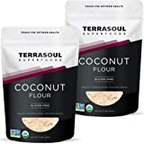 Terrasoul Superfoods Organic Coconut Flour, 4 Lbs - Gluten-Free | Unrefined | Fine Texture | Premium Quality