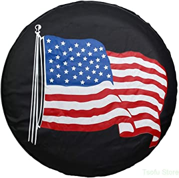 Spare Tire Cover Sweden Colors Flag Camping Universal Spare Wheel Cover Fit Truck Car Accessories