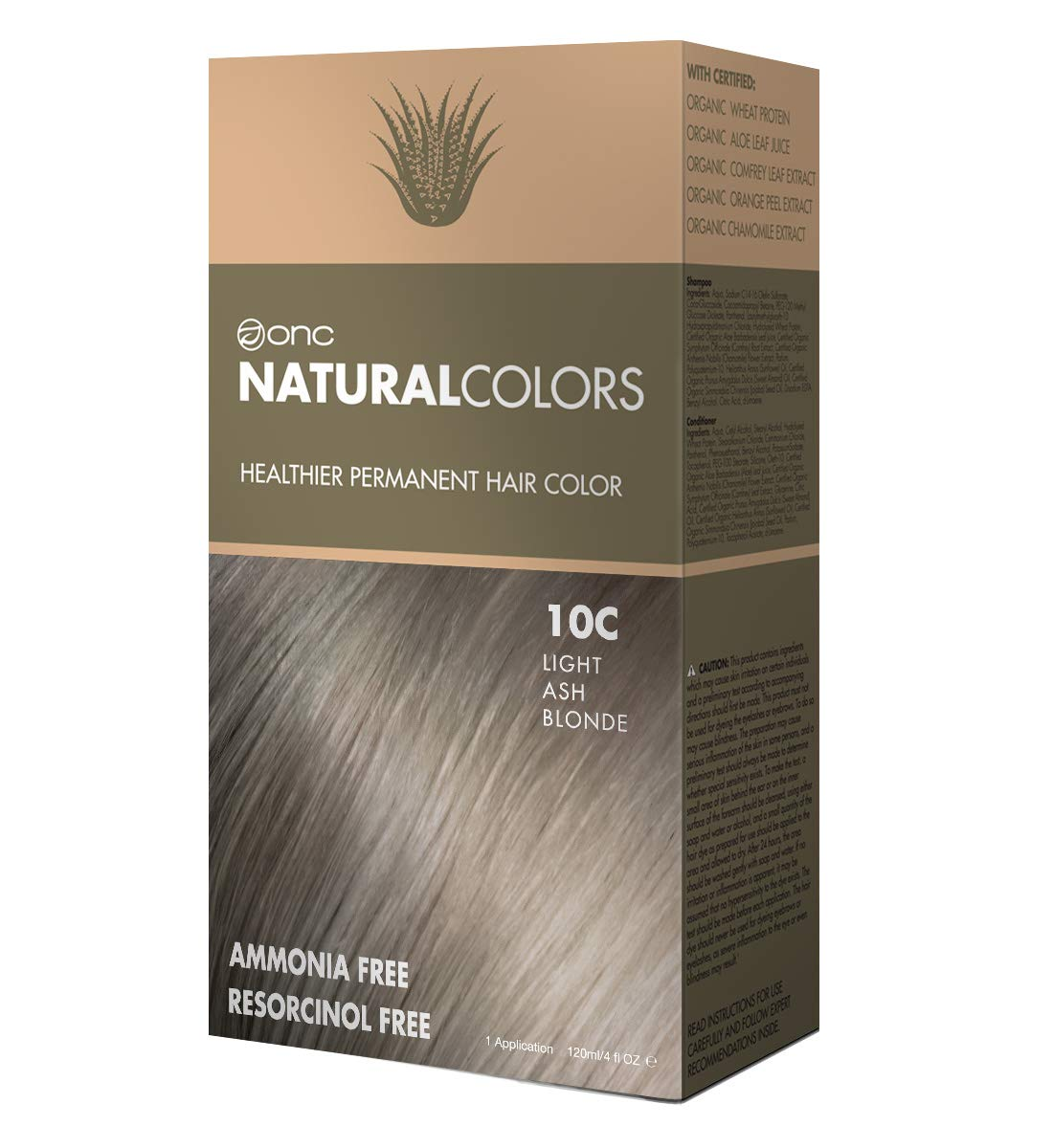 43fef753f Amazon.com   ONC NATURALCOLORS 6C Dark Ash Blonde Healthier ...