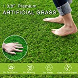Artificial Grass Turf Realistic Fake Grass Synthetic Thick Lawn Grass Mat Pet Turf