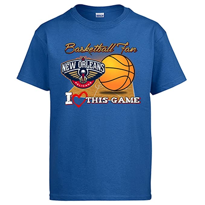 Camiseta NBA New Orleans Pelicans Baloncesto Basketball Fan I Love This Game: Amazon.es: Ropa y accesorios