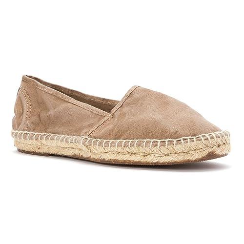 Natural World 625 e 621 - Mocasines de Tela para Mujer, Color Blanco, Talla 36 EU: Amazon.es: Zapatos y complementos