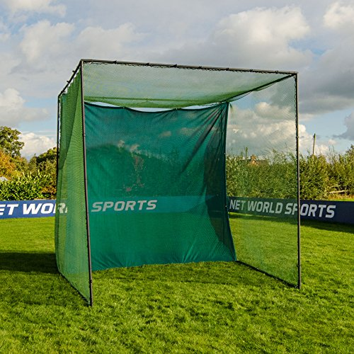 Replacement 10ft X 10ft Archery Grade Golf Impact Panel Netting (Green) – Super Strong Nets Guaranteed To Protect Your Golf Practice Cage From Damage [Net World Sports] by Net World Sports (Image #7)