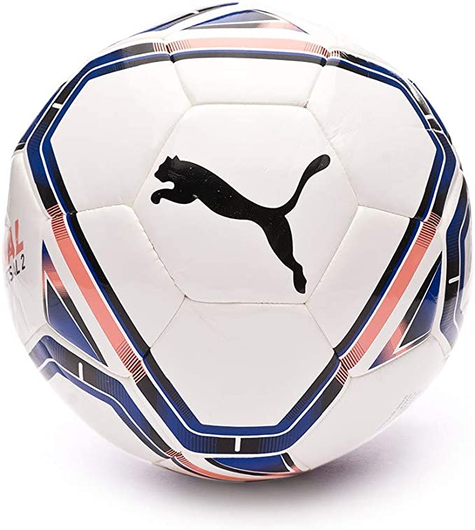 Puma teamFINAL21 Futsal Training Ball, Balón, Puma White-Horizon ...