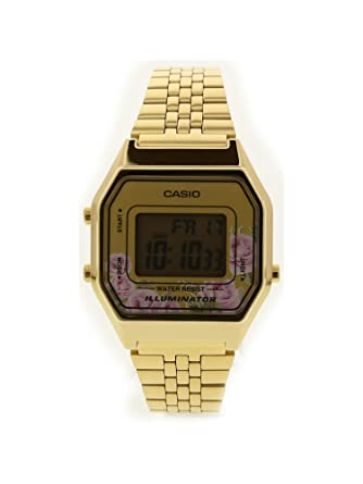 1b3b79ba5 Amazon.com: Casio LA680WGA-4C Women's Vintage Gold Tone Alarm Digital  Watch: Casio: Watches