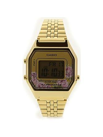 338af12ca9ad Amazon.com  Casio LA680WGA-4C Women s Vintage Gold Tone Alarm Digital Watch   Casio  Watches