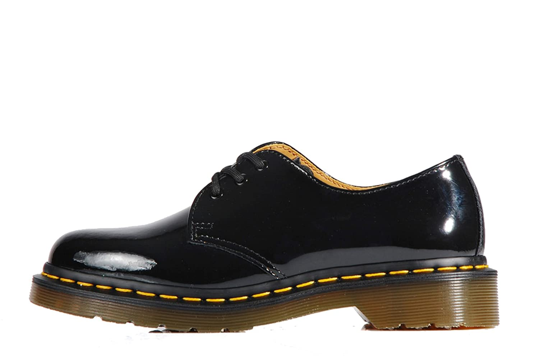 Dr. Martens 1461 Patent schwarz Classic Schuhes 3 EYELETS – – EYELETS Schuhe Lack schwarz Schwarz e2fb37