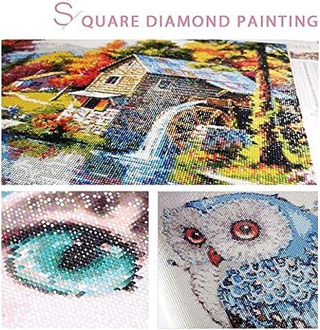Large Size Diamond Painting Number Kit Grande Pittura a Mosaico Fai da Te 5D Completo per su Tela Strass Ricamo Punto Croce DIY Craft Arts Home Wall Decor Bulldog Francese Diamante Tondo 25x25cm