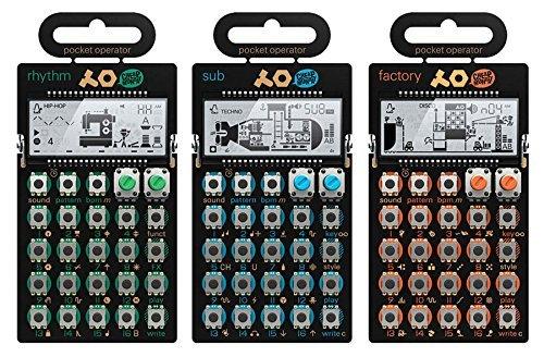Teenage Engineering PO-12 Rhythm, PO-14 Sub & PO-16 Factory Package by Teenage Engineering