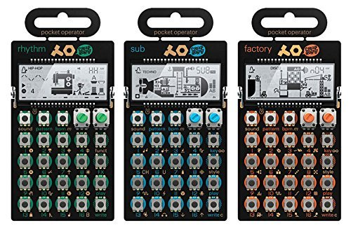 Teenage Engineering PO-12 Rhythm, PO-14 Sub & PO-16 Factory Package by Teenage Engineering