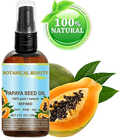 Amazon.com: Semillas de Papaya Aceite. 100% puro y natural ...