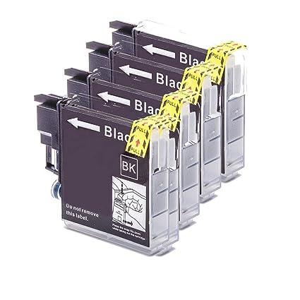 Teng® - Cartuchos de Tinta para Brother LC1240 LC1280 Compatible ...