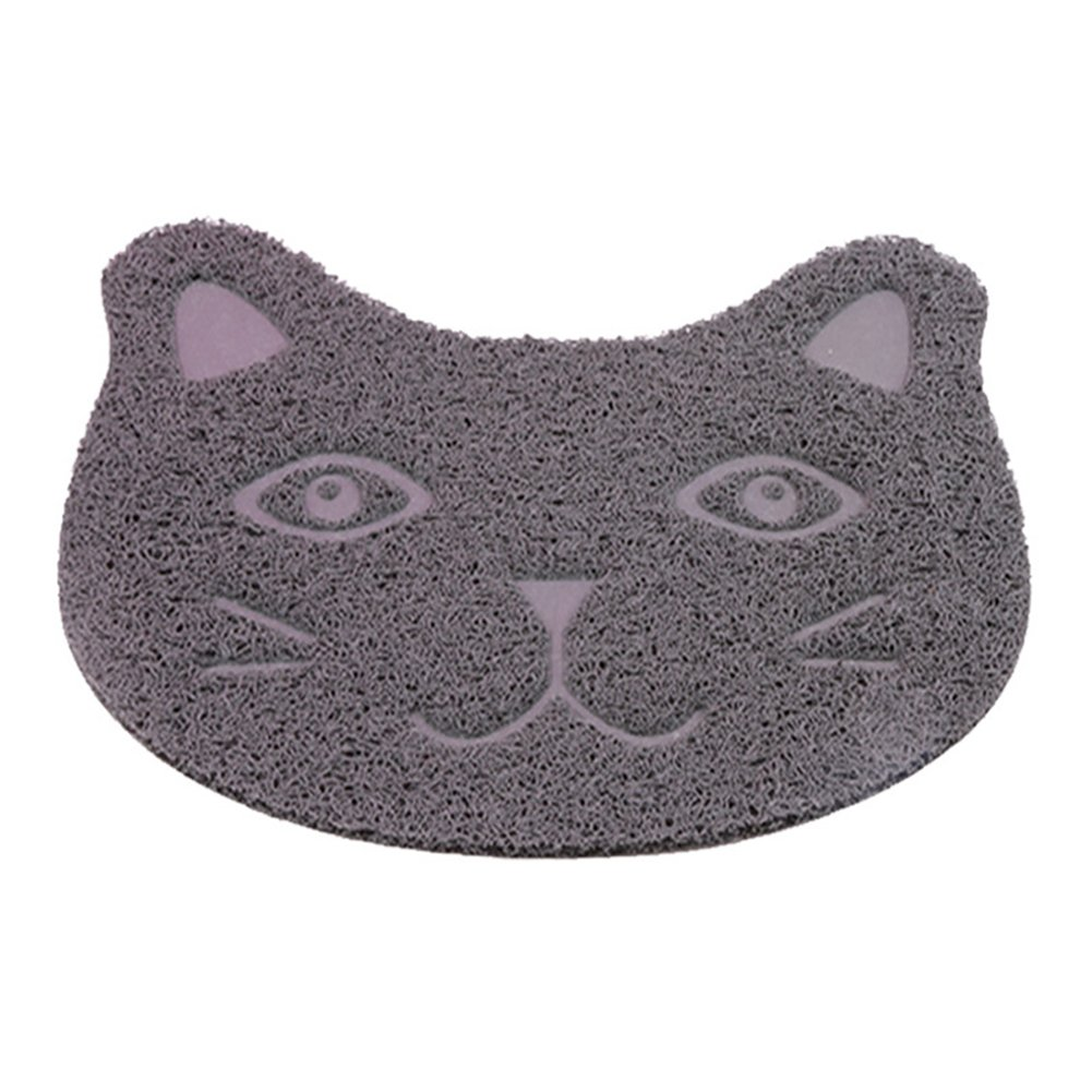 Cat Litter Mat, Non-Slip Pet Food Mat, Durable Pet Litter Trapping Rugs for Cats, Dogs and Rabbits