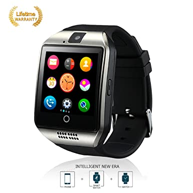Bluetooth reloj inteligente Fitness Tracker Anti - perdido Q18, equipo portatil con camara TF /