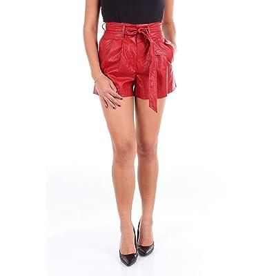 8 PM D8PM82S52 Pantalones Cortos Mujer Rojo XXS: Ropa y accesorios