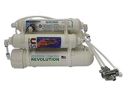 Sistema de agua de purificación en 5 etapas por ósmosis inversa RO para encimeras, portátil