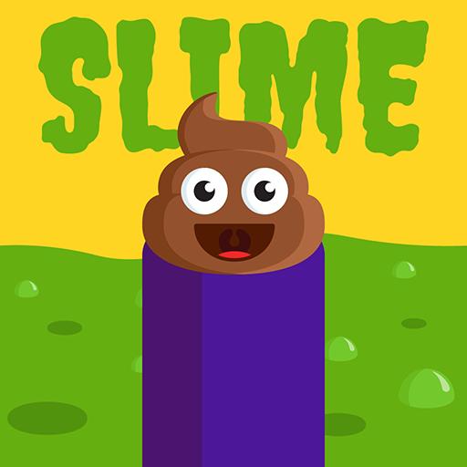 The Floor Is SLIME - Help Poop Emoji Avoid Slime: Toilet Time Killer Free Game Challenge (Toilet Simulator)