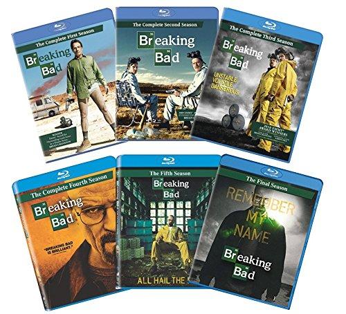 Breaking Bad: The Complete Series (6-Pack Bundle) [Blu-ray] (Breaking Bad Blu Ray Box Set 1 5)