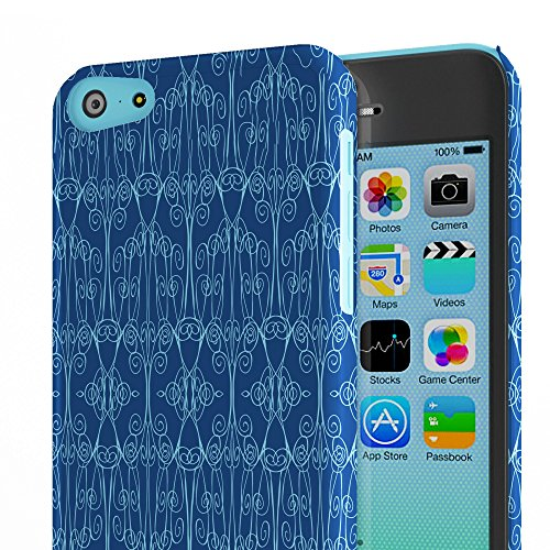 Koveru Back Cover Case for Apple iPhone 5C - Classic Blue
