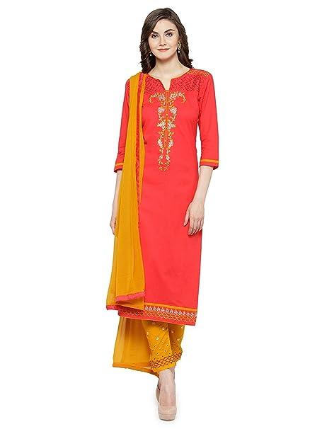 Amazon.com: Dream Angel Fashion - Vestido de estilo kurta ...