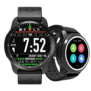 JINRU Reloj Inteligente 4g1 + 16G Bluetooth Reloj WiFi Paso Bluetooth: Amazon.es: Hogar