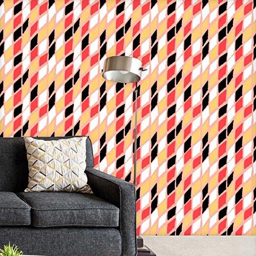 Artzfolio Harlequin Self-Adhesive Peel & Stick PVC Vinyl Wallpaper 40 X 324Inch; Area 90Sq.Ft