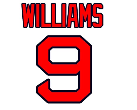 4a252ac03 Image Unavailable. Image not available for. Color: Ted Williams Boston Red  Sox Jersey ...