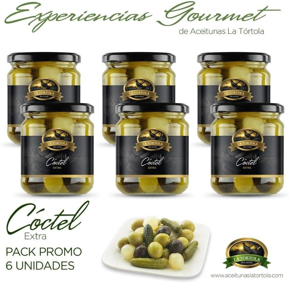 Cóctel extra 370 g. La Tórtola Gourmet (Pack 6 Botes 2.220 g ...