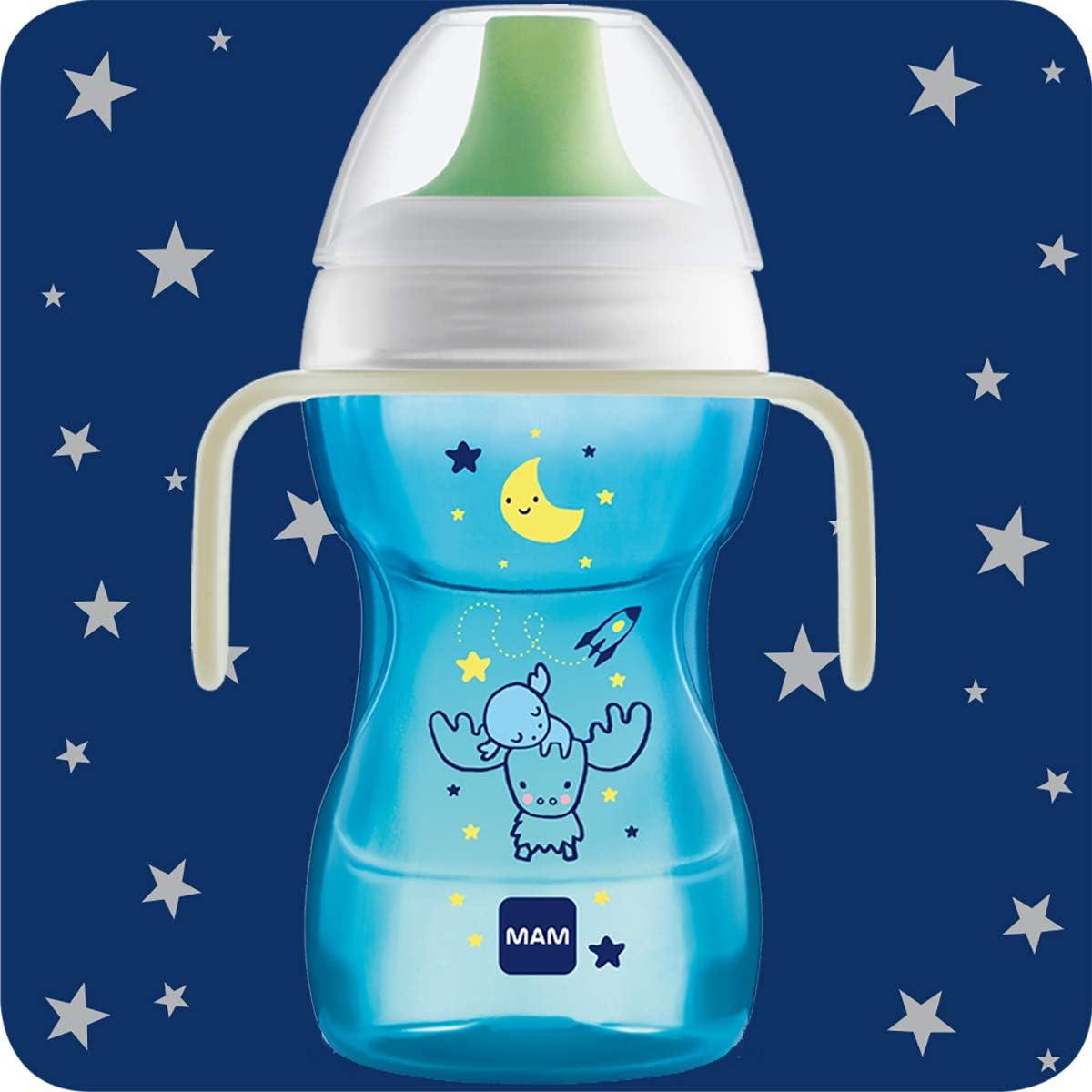 Taza para beber 0,10 kg 270 ml color azul MAM Fun To Drink
