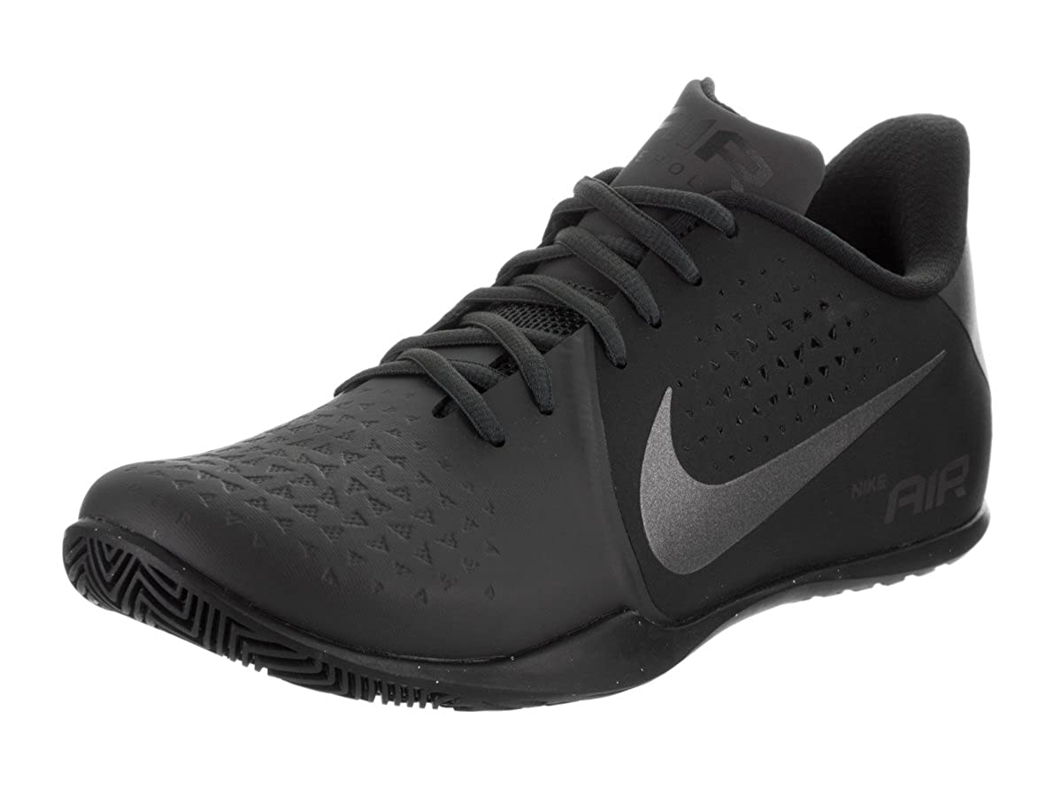 Nike Mens air behold low nbk Low Top Lace Up Leather Basketball Shoes B01LELGLC4 9.5 D - Medium|Anthracite/Metallic Dark Grey-black Anthracite/Metallic Dark Grey-black 9.5 D - Medium
