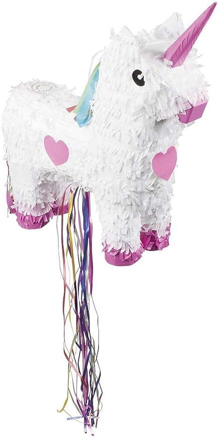 Pignatta Unicorno grande rosa 47x39cm