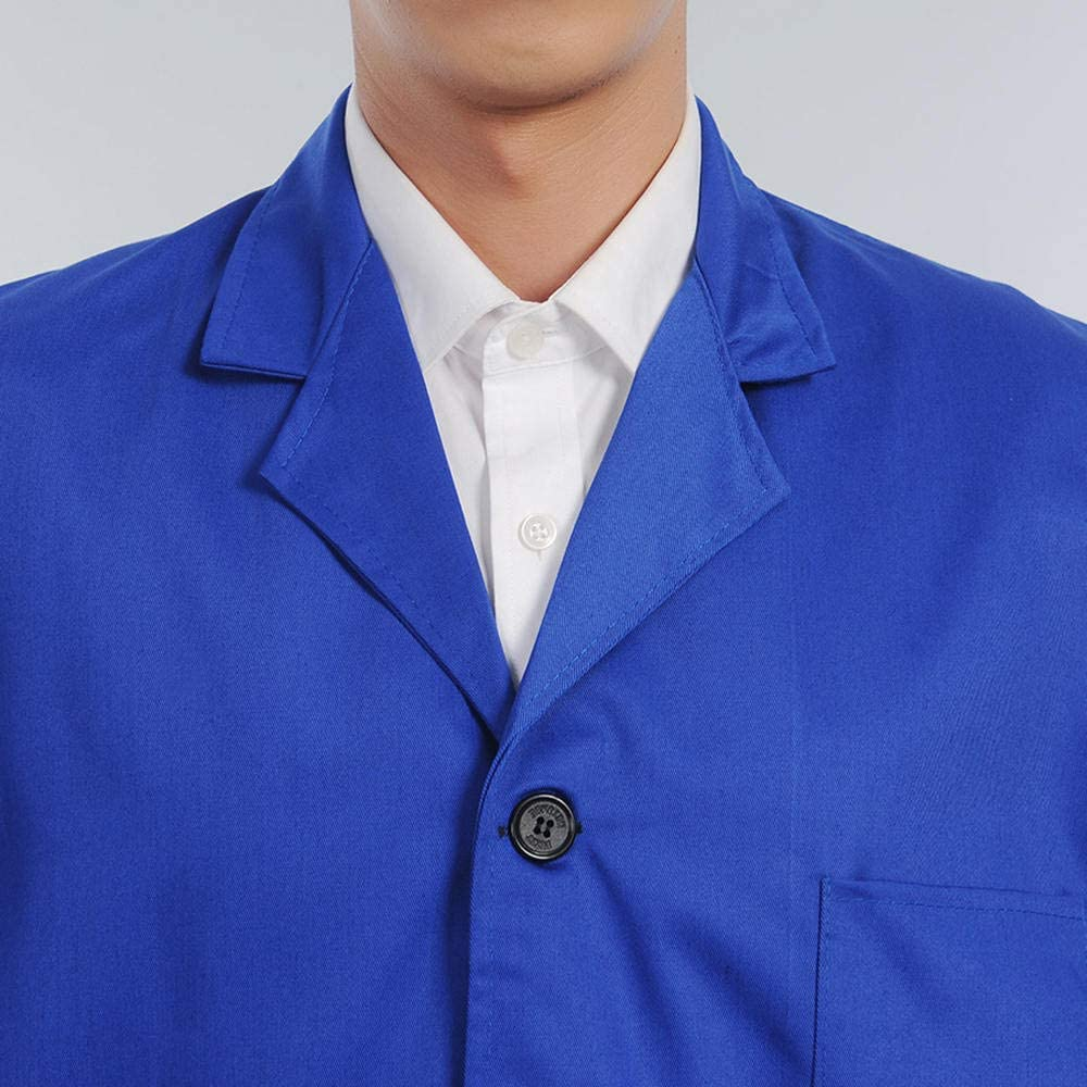 Long Sleeved Big Pocket Clothes Dust-Proof Suit Long Sleeve Labor Protection XL styleinside Workwear
