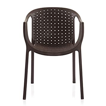 Varmora Designer Chair (Ola Netted - Brown)