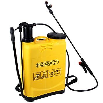 Deuba Mochila de pulverización multiusos 17 litros Pulverizador a presión con Accesorios Lanza de pulverisación limpieza: Amazon.es: Jardín