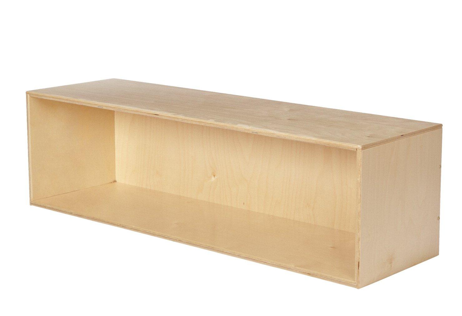 Childcraft Open Shelf Stacker Compartment Storage, 47-3/4 x 14-1/4 x 13-3/4 Inches