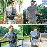 Nicgid Sling Bag Chest Shoulder Backpack Fanny Pack