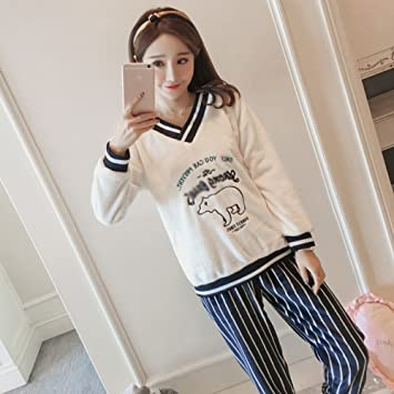 5cb0a22414d78 mjy Moon clothes, pregnant women pajamas, postpartum breastfeeding clothes,A,M  code
