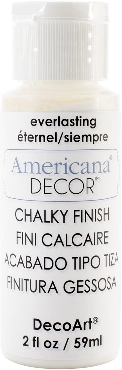 Deco Art ADC30-01 Americana Chalky Everlasting Finish Paint, 2 oz
