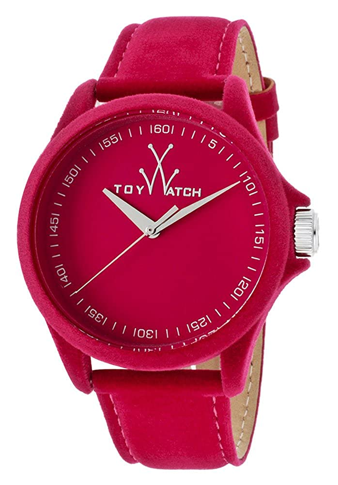 ToyWatch Women s PE03PS Sartorial Only Time Pink Velvet Watch
