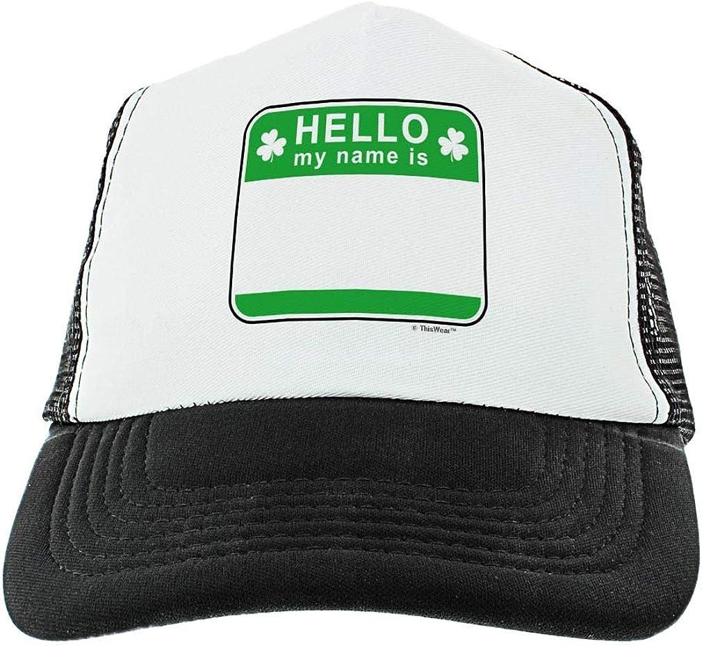 Trump Make St Patricks Day Unisex Baseball Cap Highly Breathable Sun Caps Adjustable Trucker Caps Dad-Hat