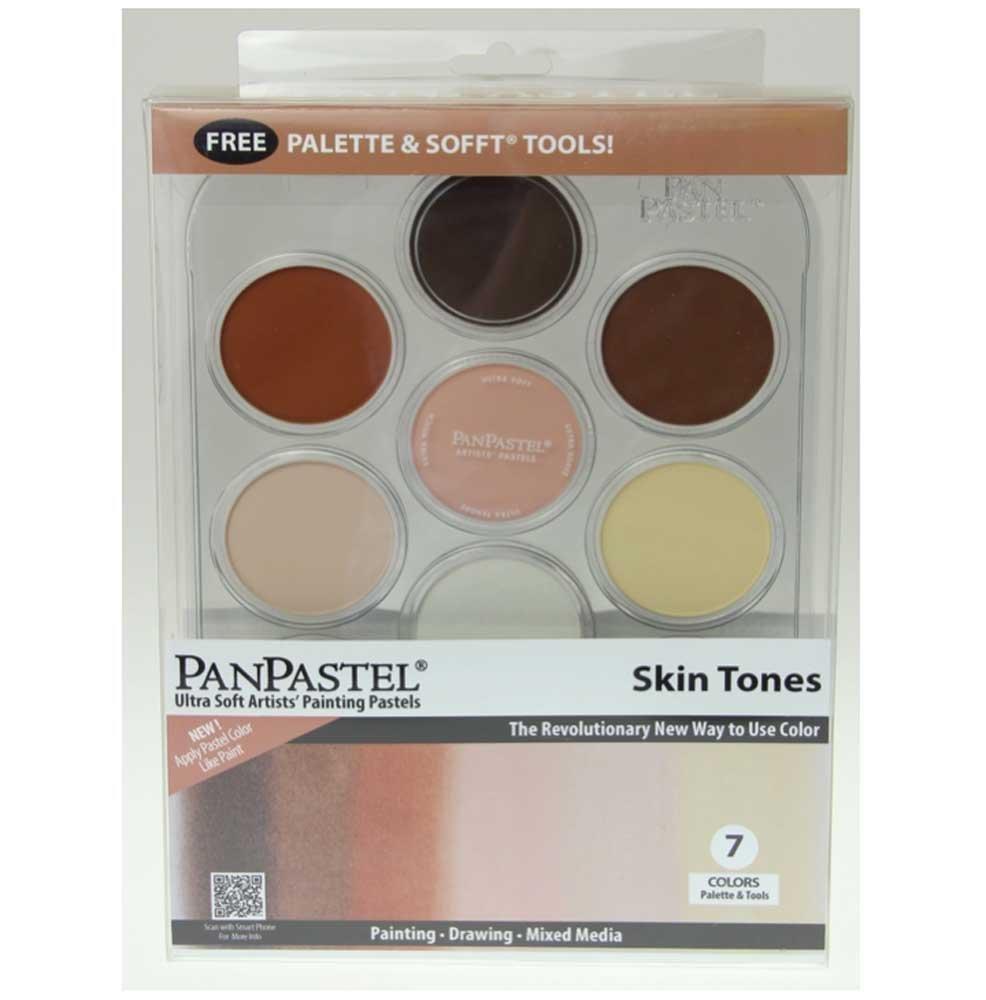Panpastel 7 Color Skin Tones Set by Colorfin