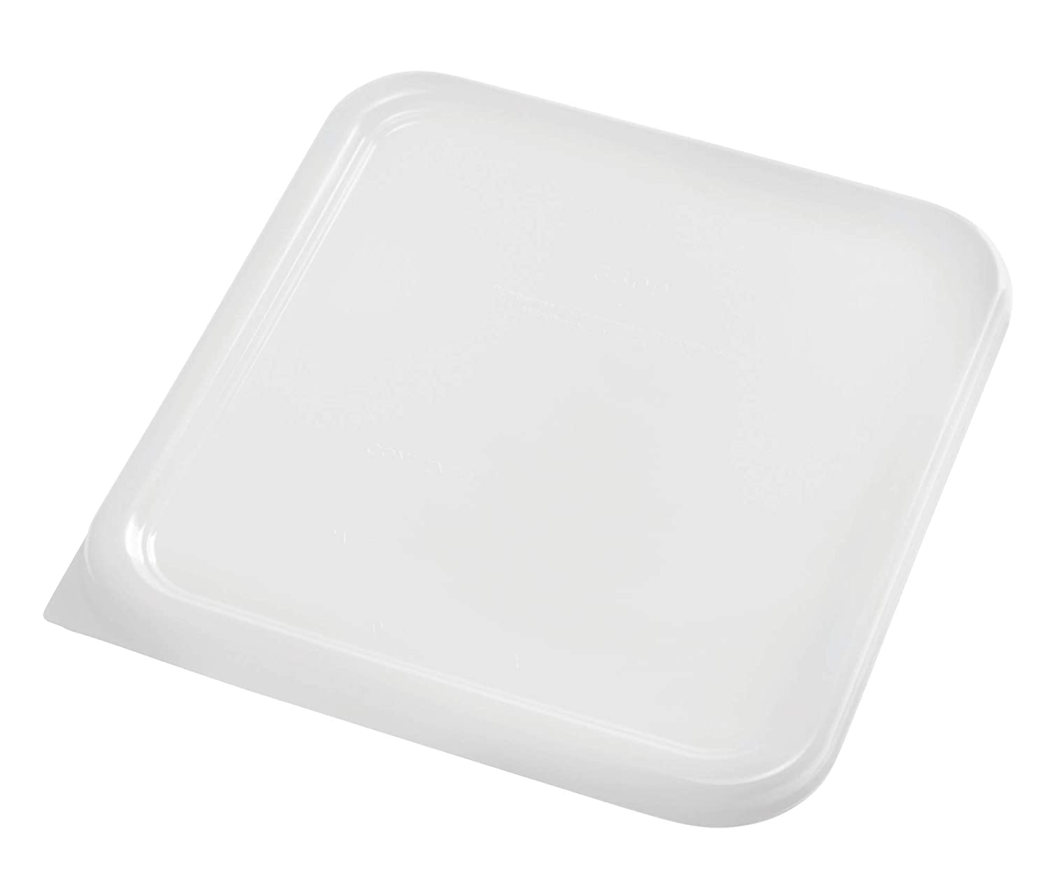 Rubbermaid Commercial Products Dur-X Lid, White, FG650900WHT, (Pack of 12)