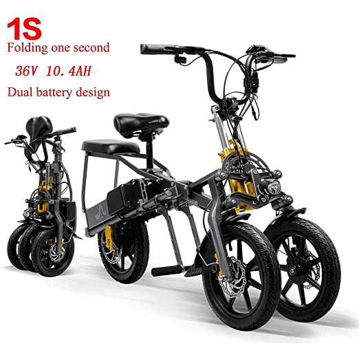 SHENXX Scooter Electrico Movilidad Reducida Triciclo/Scooter ...
