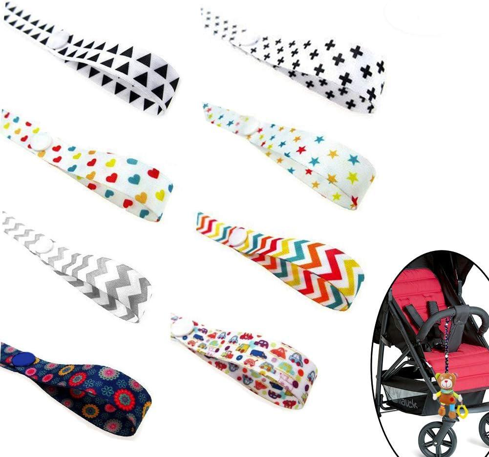 Baby Toys - Correa para botella (polipropileno, anticaídas, ajustable, sujeción para cinturón) Talla:8 Pcs