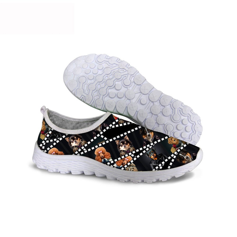 Santiro Cool Galaxy Print Funny Printting Stylish Mens Breathable Fashion Women Sneakers