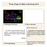 Rainbow Scratch Art Craft Paper for Kids, Art