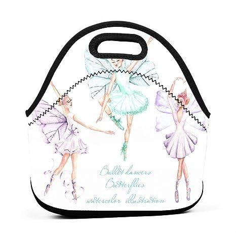 HTHR - Bolsa para el Almuerzo con diseño de Bailarinas de ...