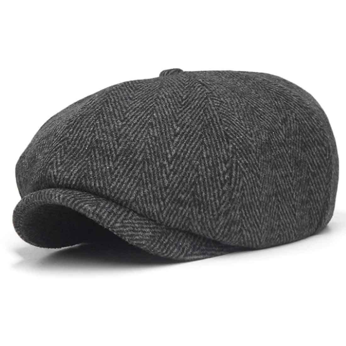 e352c6825 10dare Irish Newsboy Floppy Cap | C5/6 | Herringbone Wool 30 Cap
