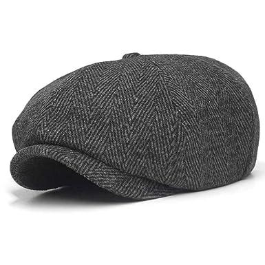 6fc1f41bc 10dare Irish Newsboy Floppy Cap | C5/6 | Herringbone Wool 30 Cap